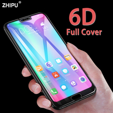 6D Tempered Glass For Huawei Honor 10 View Full Cover Curved Screen Protector for Note Protective