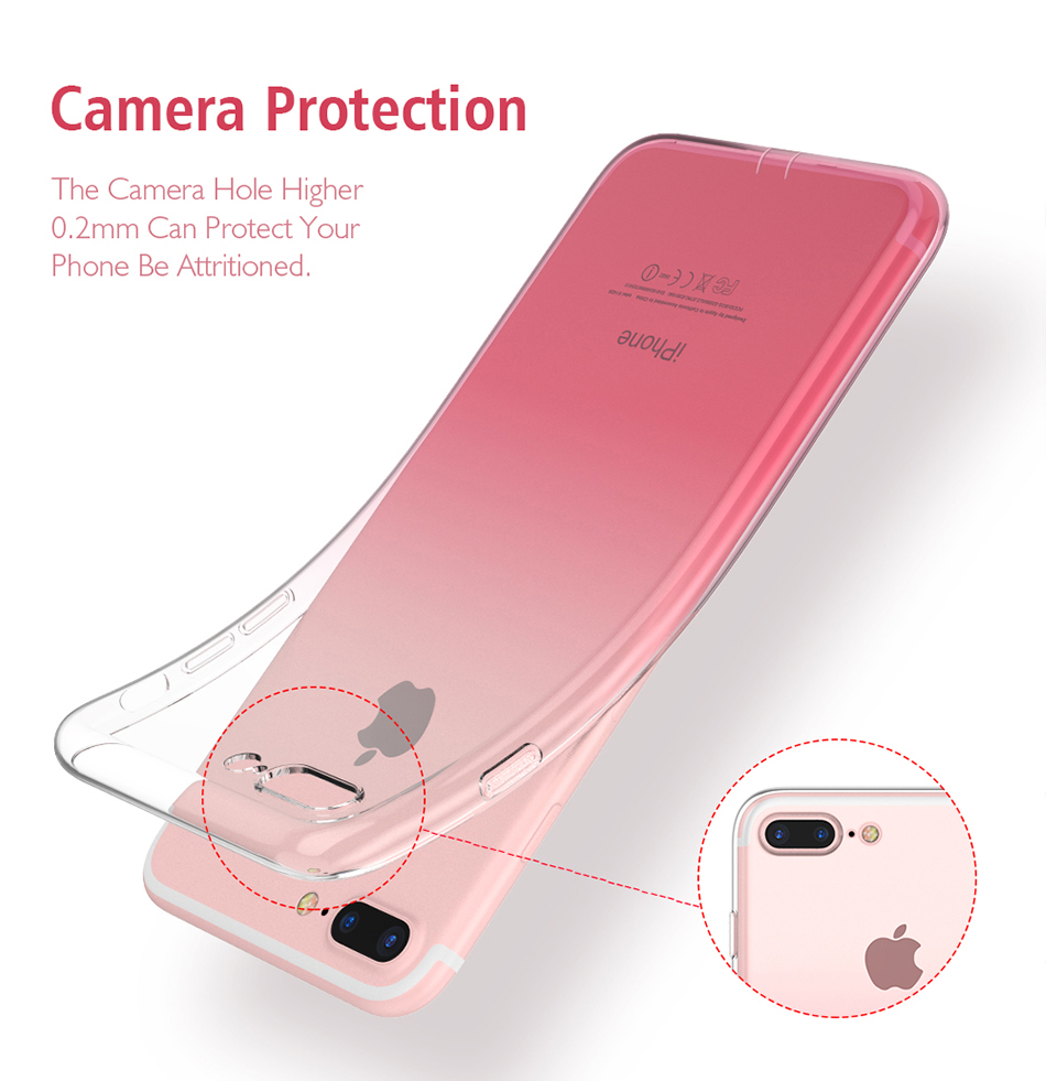 Clear iPhone 8, 8 Plus Case 7