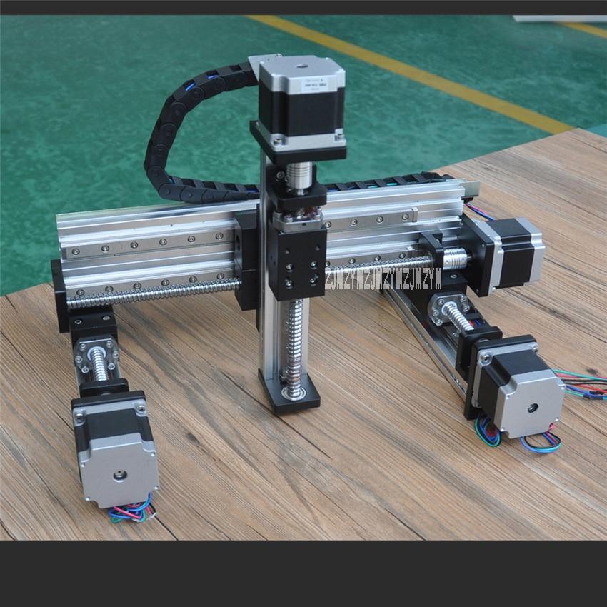 FSL40XYZ-L CNC Motion Glisser Table de Haute Qualité Vis À Billes Linéaire Guide XYZ Trois-axe CNC Table Coulissante Linéaire Guides Chaude vente