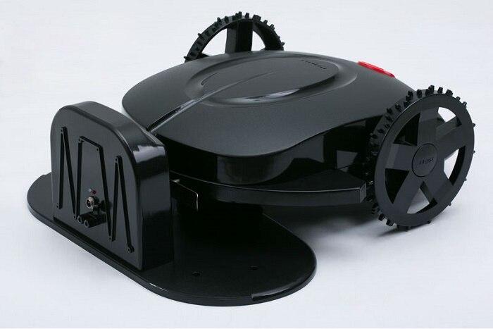 Apenas frete grátis para a rússia venda quente robô cortador de grama preto máquina corte grama com boa qualidade
