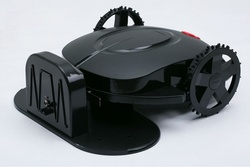 Only Free Shipping To Russia Hot Sale Robot Lawn Mower Black Grass Cut Machine With Good Quality