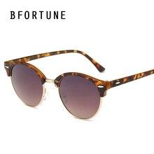 BFORTUNE 2017 Ronda Vintage gafas de Sol de Mujer de Marca Diseñador Espejo Gafas de Sol Unisex Gafas de sol UV400 Oculos Femininos mujer