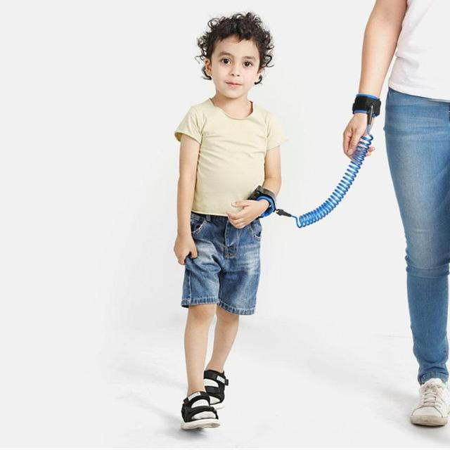 1.5/2/2.5M Child Safety Harness Leash Anti Lost Adjustable Wrist Link Traction Rope Kids Elderly Outdoor Anti Lost Wrist Leash 4