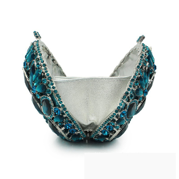 Diverse Color Rhinestone Crystal Evening Clutches  4