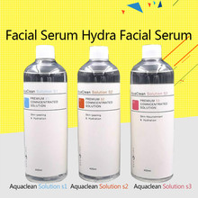 Aqua Clean Solution / Peel Concentrated 400ml Per Bottle Facial Serum Hydra For Normal Skin