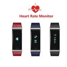 Сердечного ритма Смарт-Группы QS60 ECD Мониторинга Вибрации Фитнес Смарт Браслет OLED Сенсорной Панели для Android IOS Смарт-Браслеты