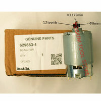 12 teeth Motor DC 10.8V Genuine Parts Set For MAKITA DF330DWE 629853 4 DF030DWE DF030D DF330D DF030DZ DF030Z Drill