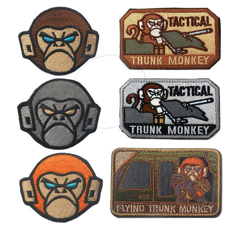 Embroidery Tactical Patch Military Morale Cloth Flying