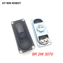 2PCS/Lot LCD Monitor/TV Speaker Horn 2W 8R 3070 Loud speaker 8 ohms 2 Watt 30*70MM thickness 17MM