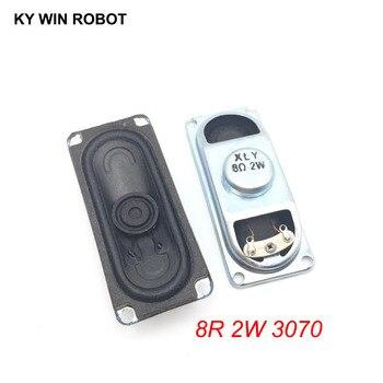 2PCS/Lot LCD Monitor/TV Speaker Horn 2W 8R 3070 Loud speaker 8 ohms 2 Watt 8R 2W 30*70MM thickness 17MM