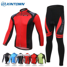 XINTOWN 2017 Cycling Jersey Long Sleeve Men Women MTB Bike Clothing Bicycle Sportswear Clothes Quick Dry Sport Jerseys 7 Styles