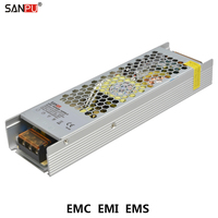 SANPU EMC Universal Power Supply Unit 12V Source 300W 25A Low Noise 220V 230V AC to DC 12 V Transformer Fanless for 3D Printer