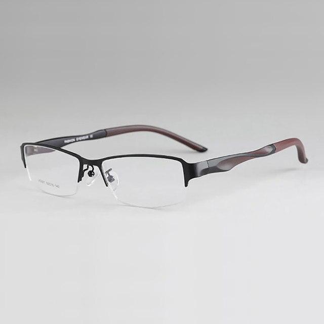 Moda Super Tornados Mais Leves Óculos Óculos de Prescrição Óculos de Armação  Flexível para Men   ee1eb753de