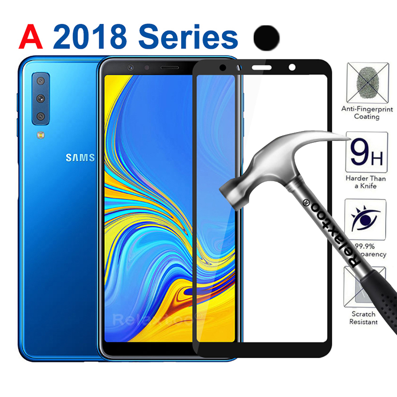 Tempered <font><b>Glass</b></font> For <font><b>Samsung</b></font> A5 A6 A7 A9 2018 A530F A750 <font><b>Glass</b></font> Screen Protector Protective Film on For samaung Galaxy <font><b>A</b></font> 5 6 <font><b>7</b></font> 9 9a image