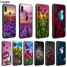 Lavaza Tulips flower Spring field Red pink yellow purple Soft Case for Xiaomi MI MAX 3 A1 A2 mi6 mi 8 9se Lite Plus for f1(China)
