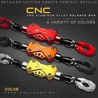 Universal Adjustable Motorcycle Balance Bar Personality CNC Motorcycle Handlebar Strengthen Rod Creative Scooter Handlebar Level