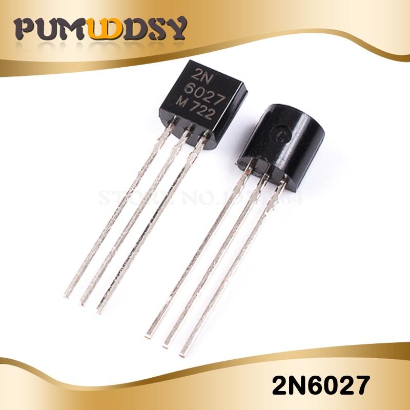 20 PCS 2N6027 6027 TRANS PROG UNIJUNCT 40V TO92 NEW