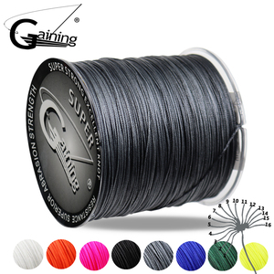 Gaining 16 Strands 300M/327Yds Super Power Braided Fishing Line Duarble 60-310Lbs Superbraid Line Smoother Fishing Line