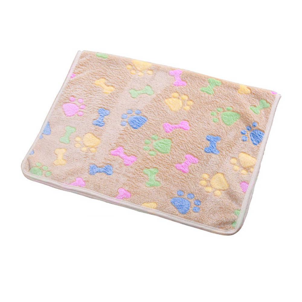 Одеяло для собаки для питомца кошка собака коврики дышащая мягкая кровать одеяло для собаки кошка щенок котенок хомяки морские свинки теплое одеяло собака кровати