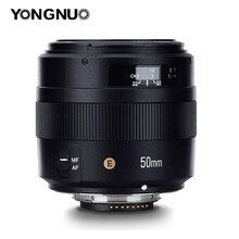YONGNUO YN50MM F1.4N E Standard Prime Lens AF/MF for Nikon D7500 D720 D7100 D7000 D5600 D5500 D5300 D5200 D5100 D5000 D3400 etc.