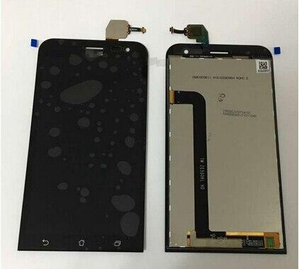 """5.0 """" черный для Asus Zenfone 2 лазерная Ze500KL жк-дисплей с сенсорным PanelGlass замены дигитайзер ассамблеи"""
