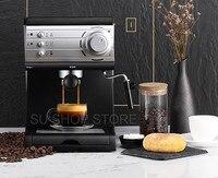 20 bar Pompa Espresso 1.5 Litro Serbatoio di Acqua Macchina per il Caffè A Casa Ufficio Macchina Per Caffè Espresso Semi-Automatica Ufficio Commerciale