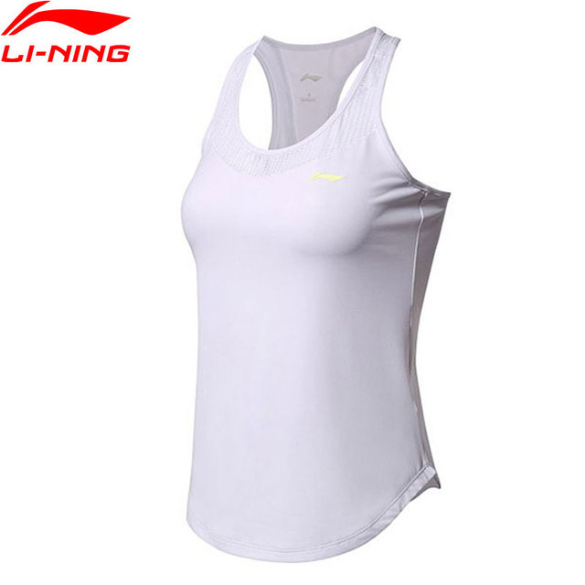 Li-Ning Women Training Airborne Tank Top AT DRY Breathable Vest Regular Fit LiNing Sports Sleeveless T-shirt AVSN008 WBS297