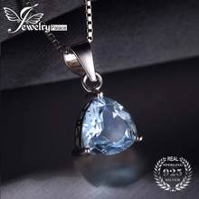 Здесь можно купить  Classic Trillion 2.2ct Natural Sky Blue Topaz 100% Genuine 925 Sterling Silver Pendants For Women Fashion Hot Sale Bijouterie