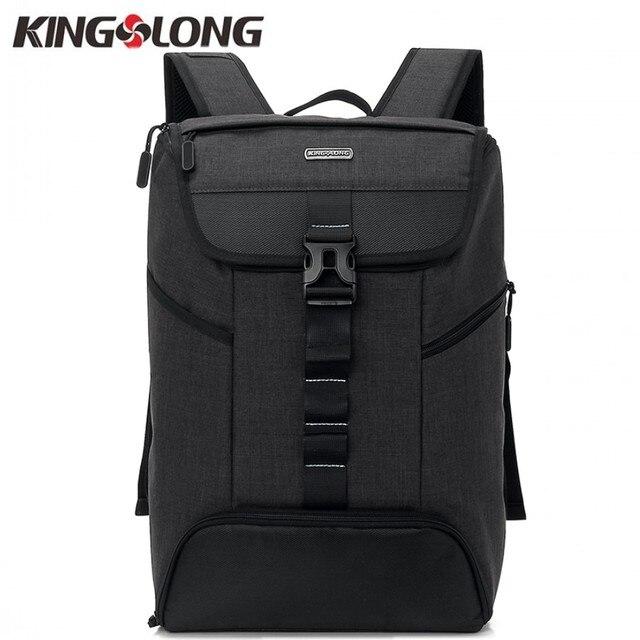71f5ebf0bff KINGSLONG New Large Capacity Travel Men's Backpack for Shoes Waterproof  17.3