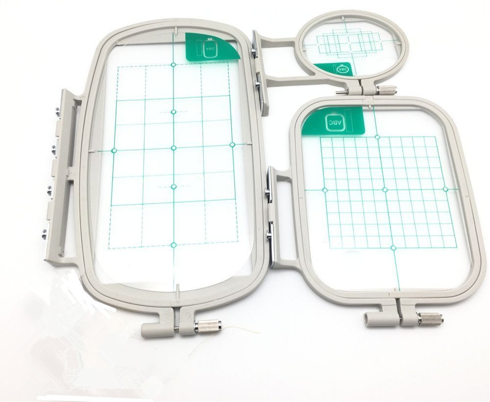 3 Pcs Sewing Embroidery Machine Hoop Set Sewing Hoops For Brother Embroidery Machine 5AA8255