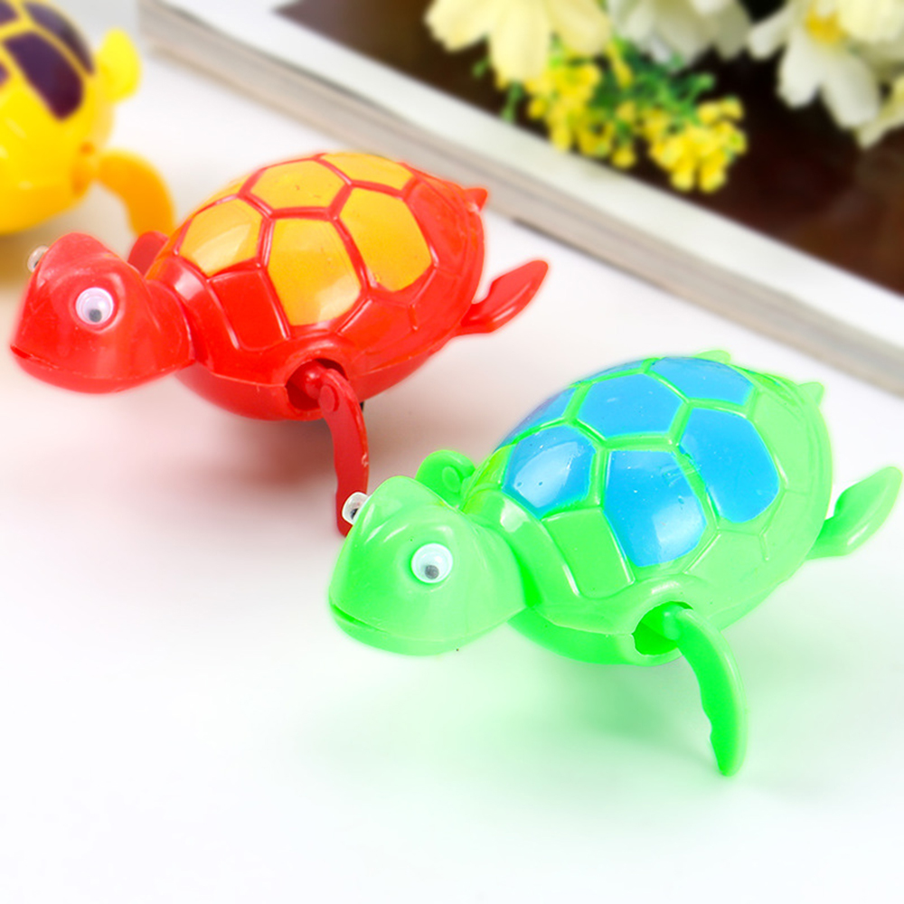 1pc Bath Toys for Children Turtle Swimming Pool Bathtub Classic Clockwork  Bathroom Beach Water Toys