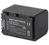 Battery Pack for Sony FDR-AX100E, FDR-AX700E, HDR-TD10E, HDR-TD20VE, HDR-TD30VE, NEX-VG10, VG10E, NEX-VG20EH Handycam Camcorder