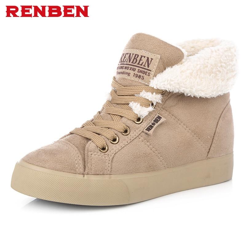 Новые модные женские Теплые ботильоны на меху, женские ботинки, зимние ботинки, осенне-зимняя женская обувь, # y10308q