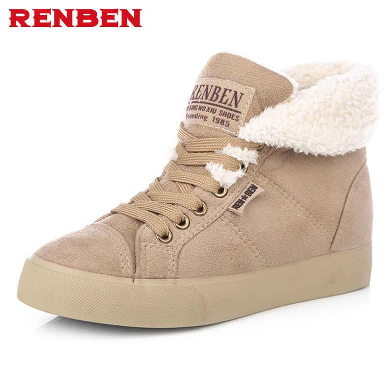 Yeni moda kürk kadın sıcak yarım çizmeler kadın botları kar botları ve sonbahar kış kadın ayakkabı # Y10308Q