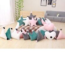 45cm New Sofa Cushion Room Decoration Kids Sleeping Doll Super Plush Pillow Lovely Stuffed Heart Moon Crown Star Shape Toys