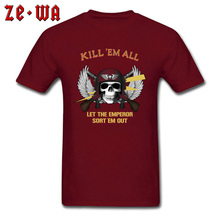 цены на American Psycho Skull Shoot Dead T Shirt Kill All Geek Tshirts 3D Digital Print New Top T-Shirt Army Skull Hipster TeeShirt Male  в интернет-магазинах