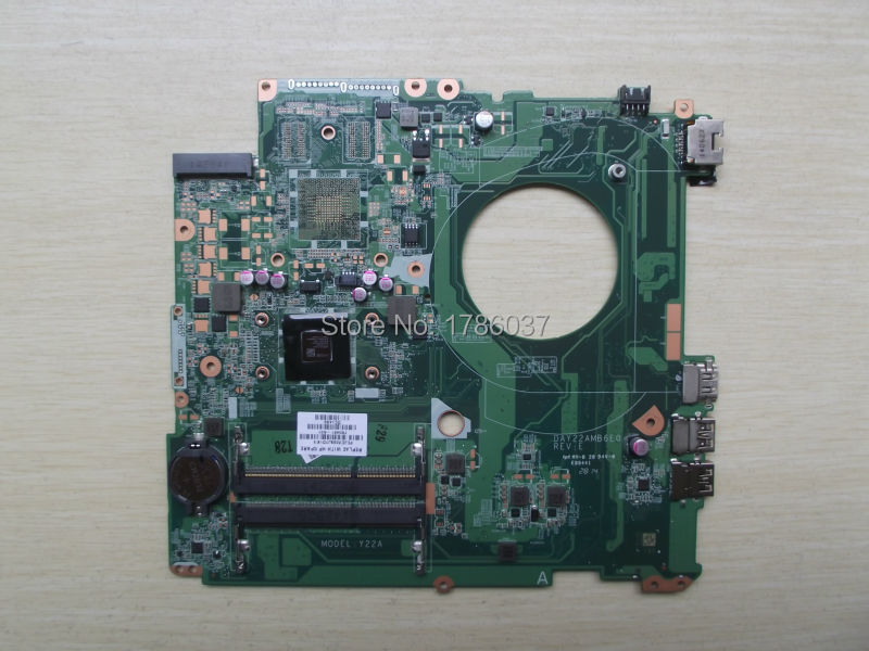 ФОТО Free Shipping 763421-501 DAY22AMB6E0 Y22A for HP PAVILION 17-F 17Z-F motherboard A4-6210 CPU.All functions 100% fully Tested !