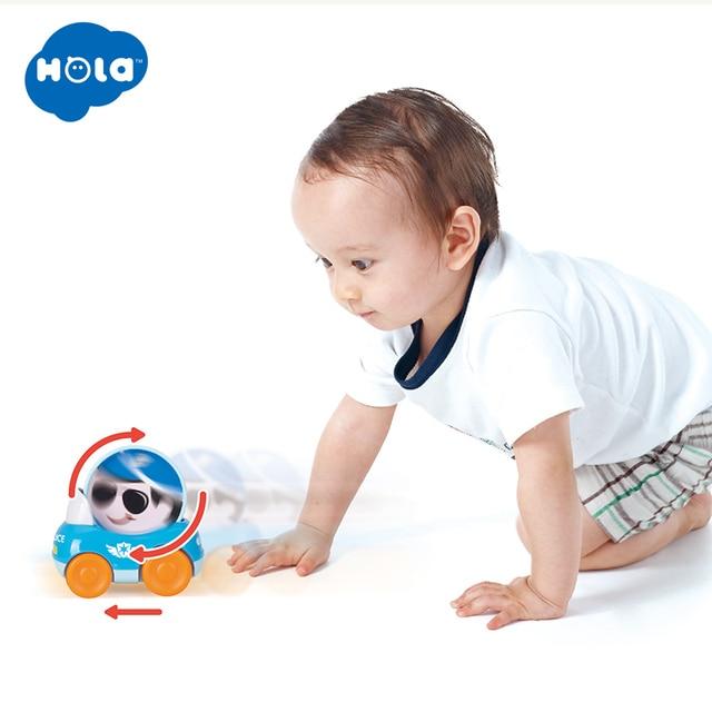 3 Buah/Banyak HOLA 3129B Anak-anak Mensimulasikan Pendidikan Trailer Mainan Inersia Truk Anak-anak Balap Mobil Set