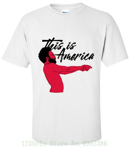 Childish Gambino This Is America T Shirt Small , Medium , Large , Xl Cool Couples Designs Best Selling Loose image