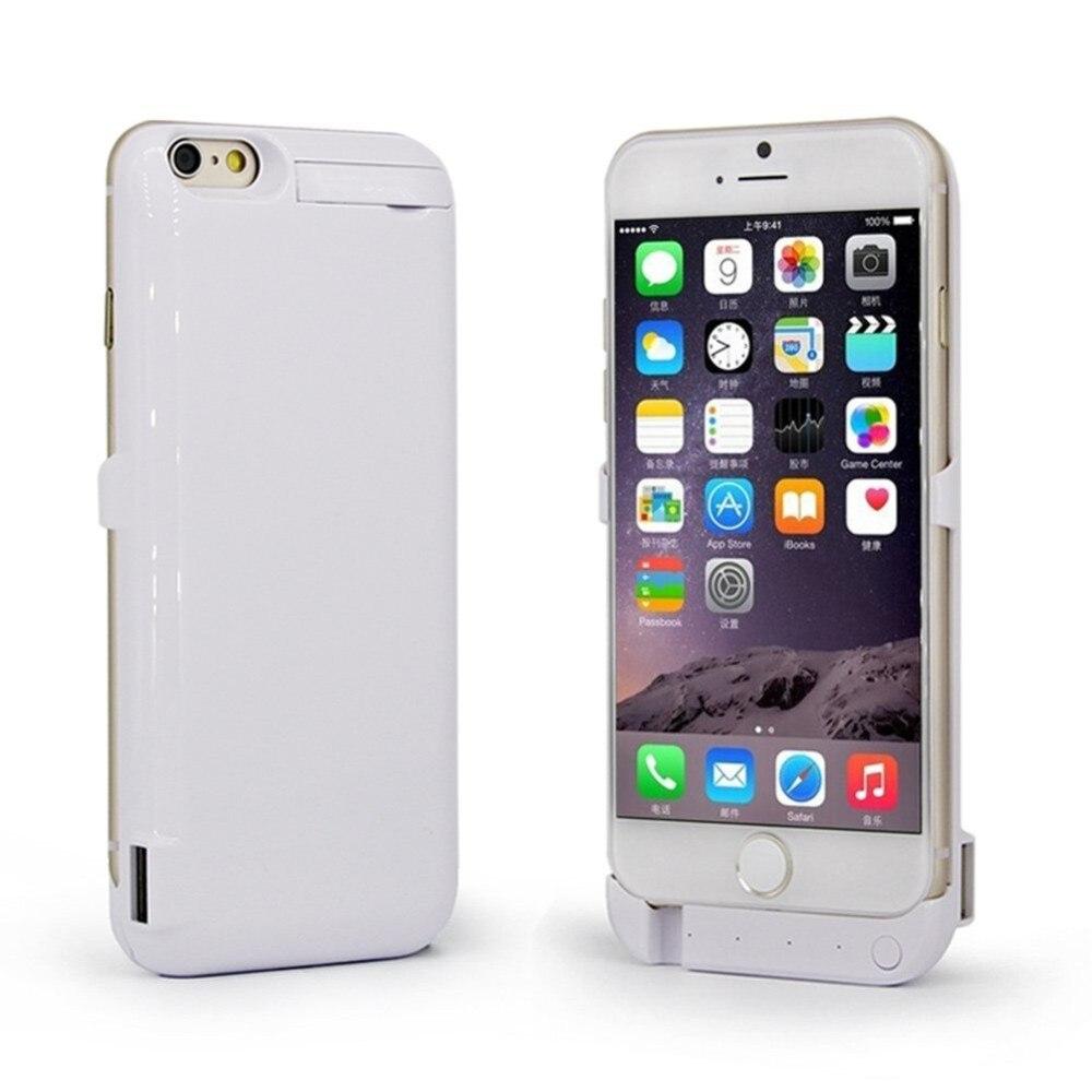 imágenes para Para iphone 6 plus 5.5 caso 10000 mah batería externa de carga caso banco de la energía de batería de reserva para iphone 6s plus 5.5 batería caso