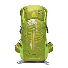 [QUBABOBO] 55L Big Capacity Outdoor Waterproof Nylon Climbing Bags Leisure Sport Multifunctional Backpack Gym Hiking Camping цена 2017