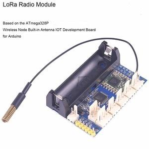 Image 3 - راديو لورا 868 ميجا هرتز عقدة V1.0 IOT وحدة لورا RFM95 SX1276 للأردوينو ATmega328P 3.7 12 فولت uFL هوائي إنترنت الأشياء FZ3338