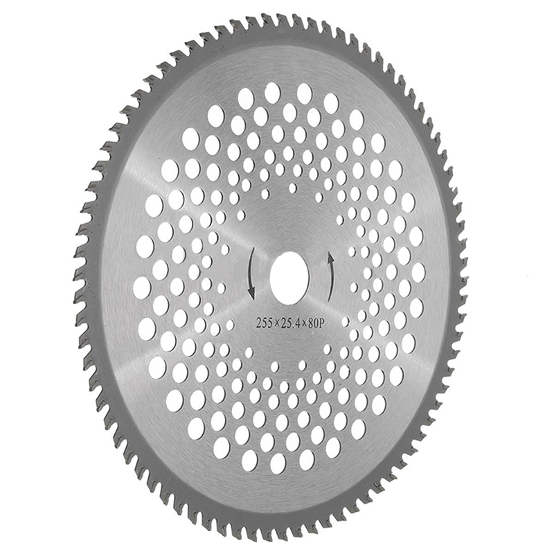 10 80 teeth circular saw blade wheel discs for cutting brush 10 80 teeth circular saw blade wheel discs for cutting brush cutter trimmer weed eater replacement blade mayitr in saw blades from tools on aliexpress greentooth Image collections
