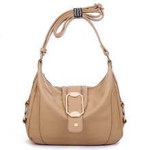 Women's Casual Bags Genuine Leather Handbag Female Hot Famous Brand Shoulder Bags Cow Split Leather Bolsas Purses Messenger Bags