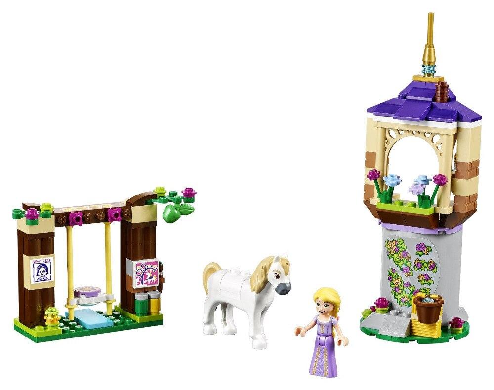 BELA Friends Rapunzel s Best Day Ever Building Blocks Classic For Girl Kids Model Toys Marvel
