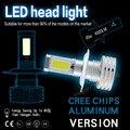 2 XWhite 6000 K 90 W 9000LM Alta Potência CREE Chips LED Car H4 H7 H8 H9 H11 9005 9006 HB3 HB4 H16 Farol Kit Lâmpadas Super brilhante