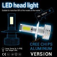 2 XWhite 90 Watt 9000LM Hohe Leistung für CREE Chips Auto LED H4 H7 H8 H9 H11 9005 HB3 9006 HB4 H16 Scheinwerfer Kit Lampen Super helle