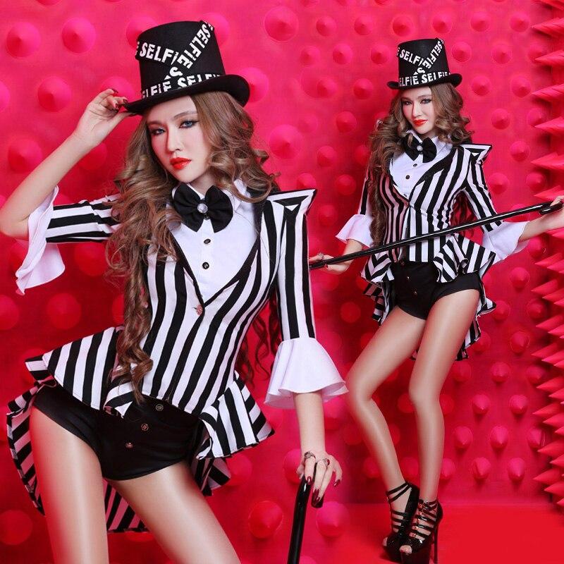 Новая девушка Ds танцевальный клуб Dj приводит Джаз бар танцор костюм одежда для выступлений Бесплатная доставка сексуальный ночной клуб