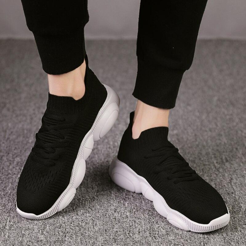 Image 5 - Bigfirse 남자를위한 패션 신발 에어 메쉬 트렌드 라이트 맨 패션 스니커즈 레저 베어 신발 zapatos mujer 2019 남자 캐주얼 신발남성용 캐주얼 신발신발 -