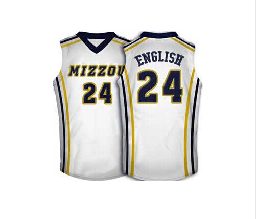 info for 72723 bd8bb 24 Kim English Missouri Tigers Basketball Jersey yellow ...